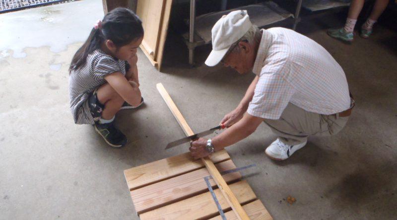 親子木工教室_つくばね森林組合