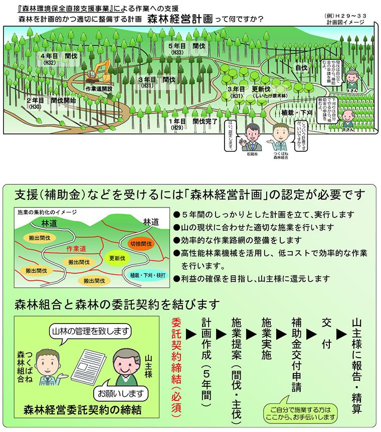 森林経営計画イメージ